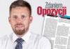 Zdaniem opozycji – Bartosz Bluma