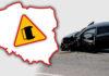 Mapa wypadków drogowych ze skutkiem śmiertelnym – WAKACJE 2019
