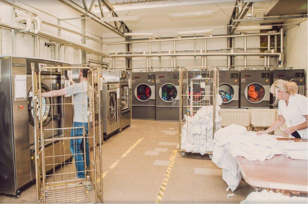 Pranie odzieży robocze