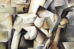 004 Wg Pablo Picasso Dziewczyna z mandoliną 1910