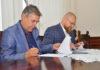 """Podpisanie umowy na budowę zbiornika retencyjnego """"Sobierajczyka"""""""