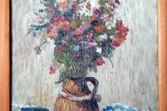 008 Olej na płycie inspirowany Van Goghem 1961